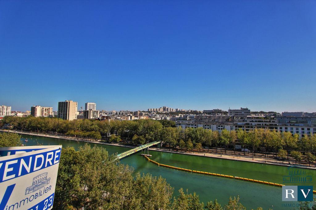 Paris 19è vente 4 p. Quai de la Seine - exceptionnel !