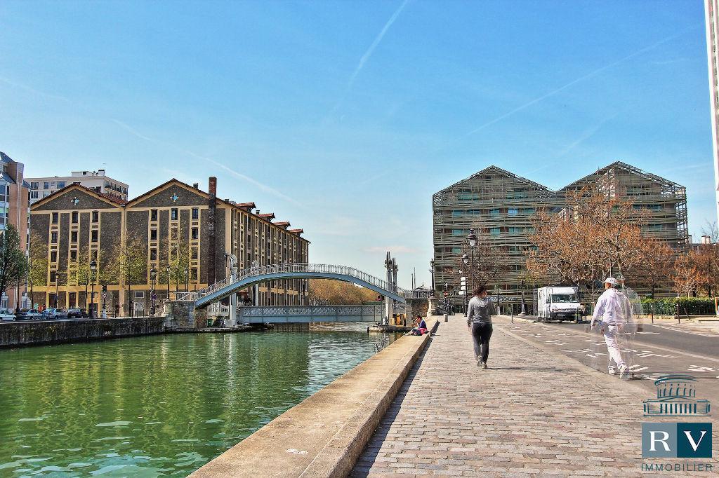 Location 2p. Paris 19è (Quai de l'Oise)
